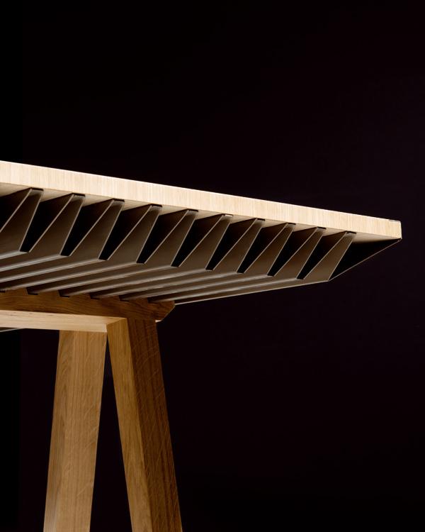 Milán 2015: Climatic Table la mesa que regula la temperatura de la habitación